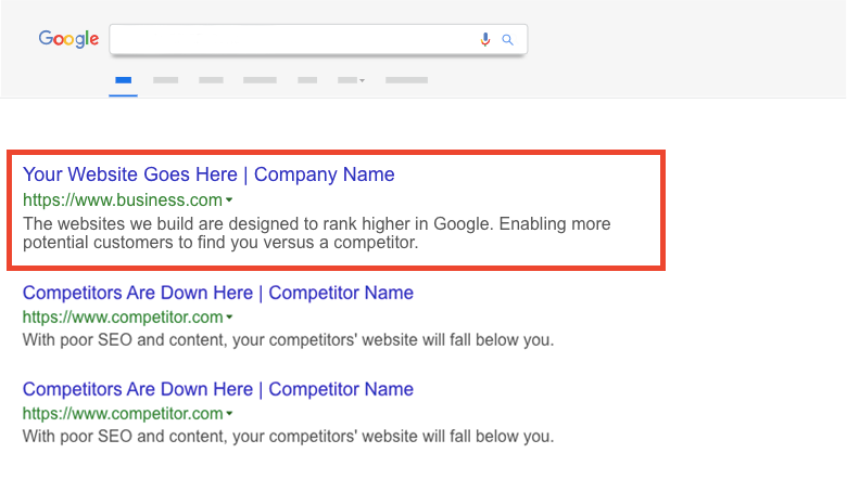 Rank higher in Google with SEO | RocketThruster