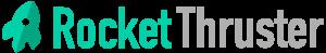 RocketThruster web design and development logo.